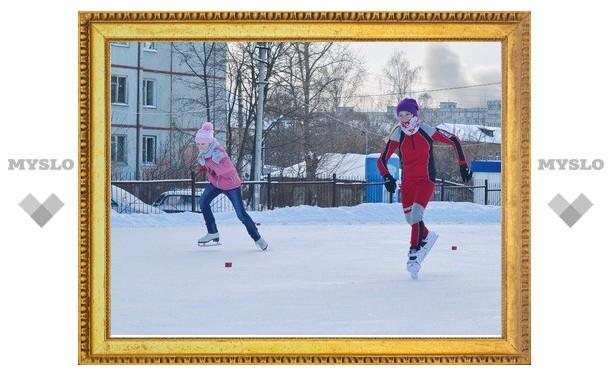 Тульские конькобежцы посоревновались в Москве