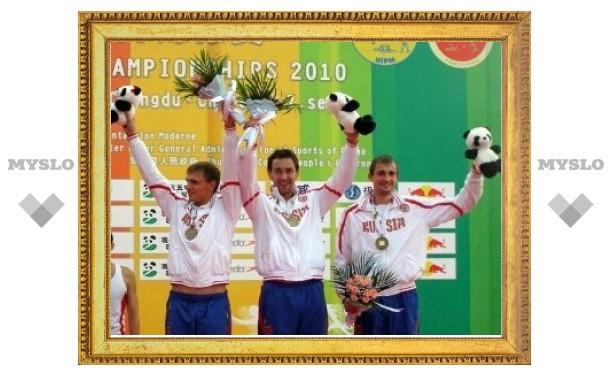 Российские пятиборцы выиграли бронзу на чемпионате мира