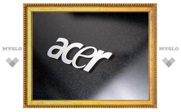 Acer выпустит нетбук с Google Android