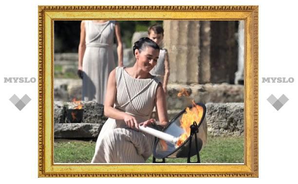 В Олимпии отрепетировали церемонию зажжения огня Игр-201