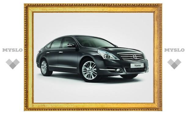 В России начались продажи обновленного Nissan Teana
