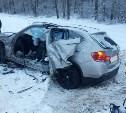 В Тульской области столкнулись Land Cruiser и BMW