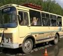 Тульская полиция продолжает устанавливать обстоятельства ДТП с автобусом, перевозившим детей