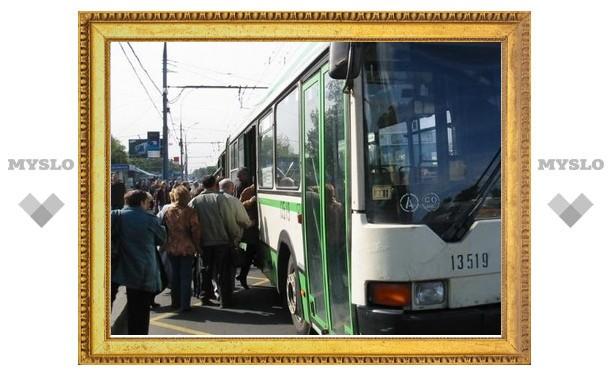 9 Мая до 13.00 в Туле изменено движение транспорта