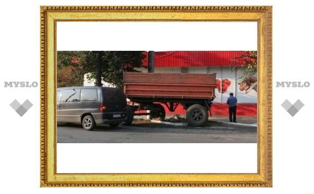 Тульские пешеходы стали жертвой самосвала