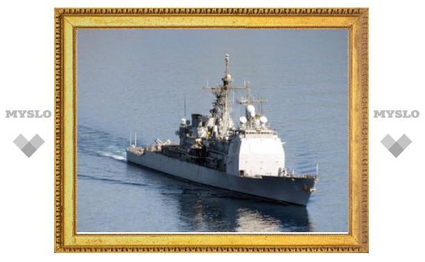 МИД РФ возмутило появление американского крейсера в Черном море