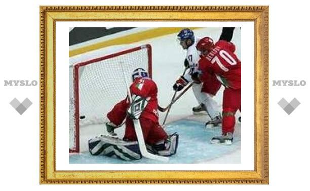 Чехи забросили восемь шайб в ворота белорусов