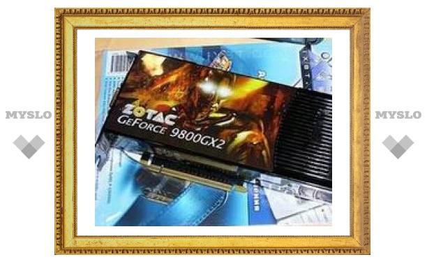 """Официально представлена """"самая быстрая видеокарта в мире"""" - GeForce 9800 GX2"""