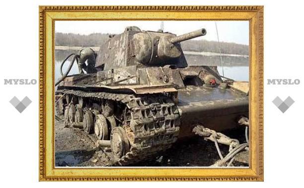 Под Тулой нашли танки