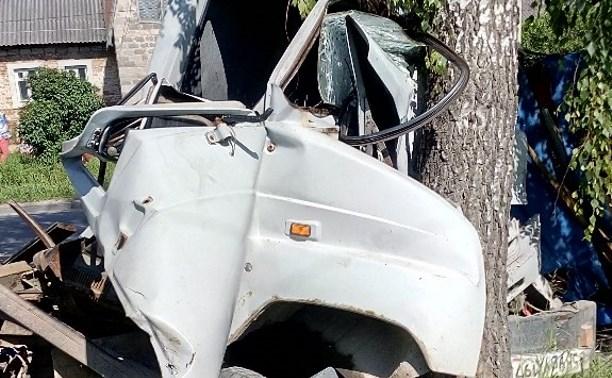 В Большой Еловой в результате столкновения двух грузовиков пострадали два человека