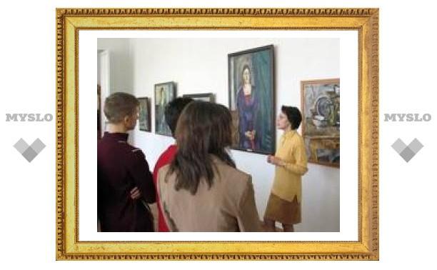 Тульские экспонаты выставляются в Калуге