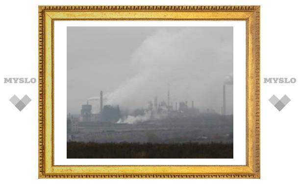 264 тысячи тонн пыли выброшено в тульский воздух