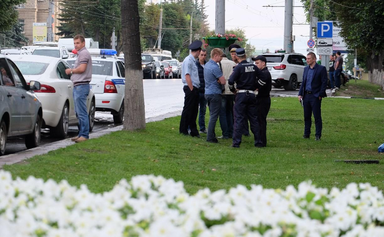 На задержанного в центре Тулы водителя Jaguar «завели» уголовное дело