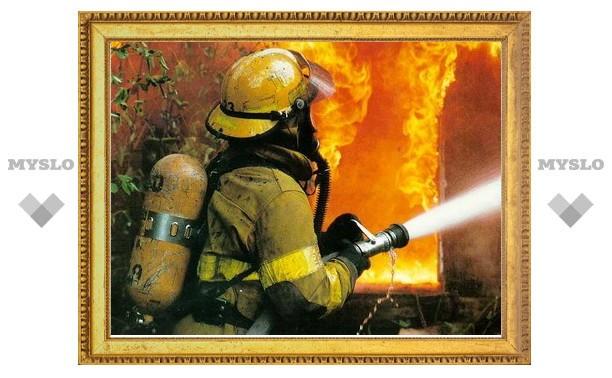 Под Тулой ночью сгорел магазин