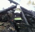 В Заокском районе сгорел дачный дом