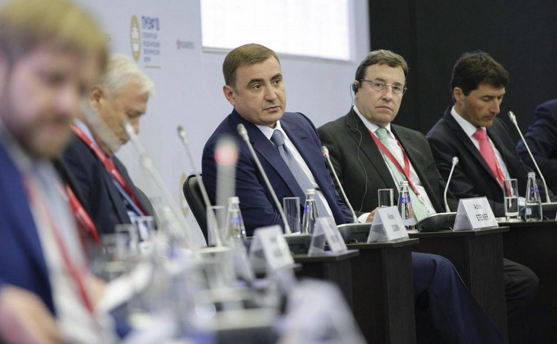 ПМЭФ-2018: Алексей Дюмин выступил на сессии «Вызовы новой экономики»