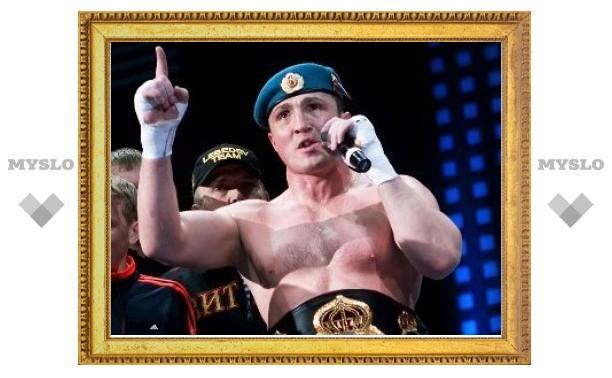 Денис Лебедев отменил бой с бывшим чемпионом мира