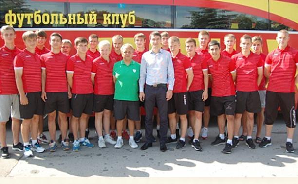 Молодежный состав «Арсенала» отправился на сборы