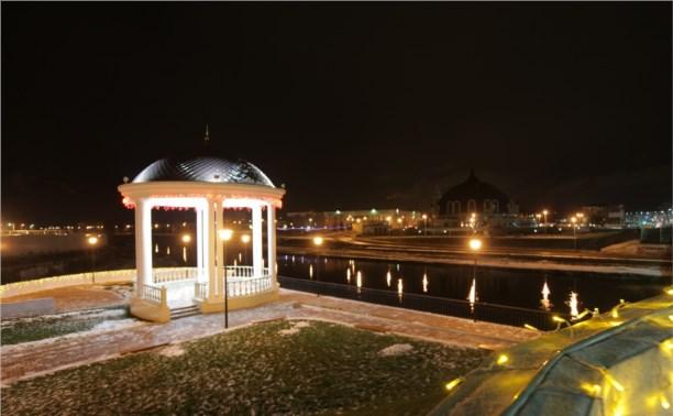 На набережной Упы поставят новогоднюю ёлку
