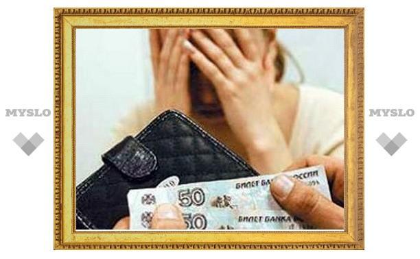 В Ефремове мать задолжала алиментов на полмиллиона рублей