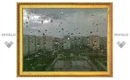 На Тулу обрушился сильнейший ливень