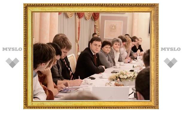 Владимир Груздев снова встретился с тульскими блогерами