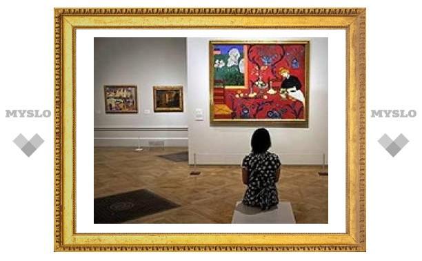 В духовной семинарии открылась выставка картин