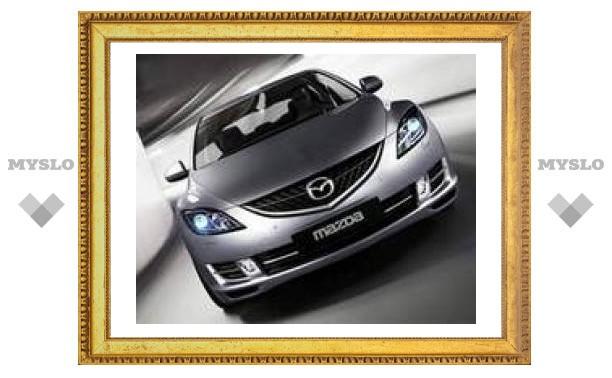 """Mazda6 показала свое новое """"лицо"""""""