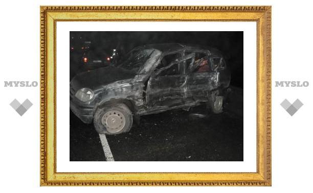 Под Тулой автопоезд протаранил две легковушки