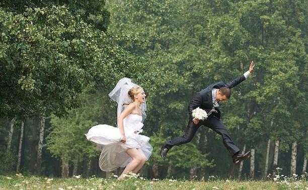 Центральный парк готовит подарки для молодых супругов