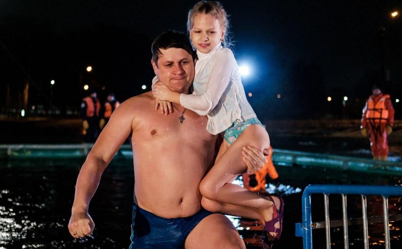 Туляки встретили Крещение и окунулись в воду: фоторепортаж