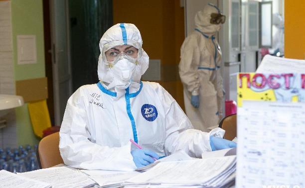 В Тульской области суточное число заболевших ковидом увеличилось до 115