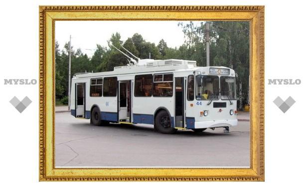 Со 2 по 5 октября в Туле троллейбусы № 4 и 5 будут ходить по другому маршруту