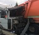 На трассе М-2 «Крым» водитель фуры устроил массовое ДТП