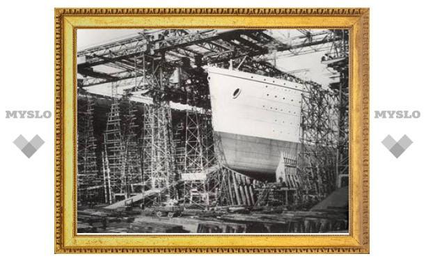 """В Ирландии впервые за сто лет покажут чертеж """"Титаника"""""""