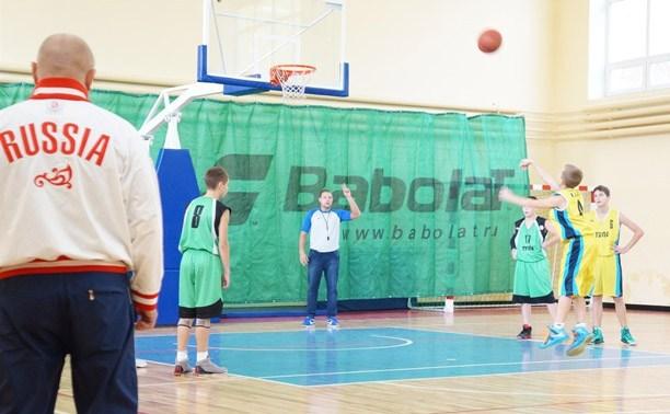 В Туле прошли баскетбольные поединки первенства области