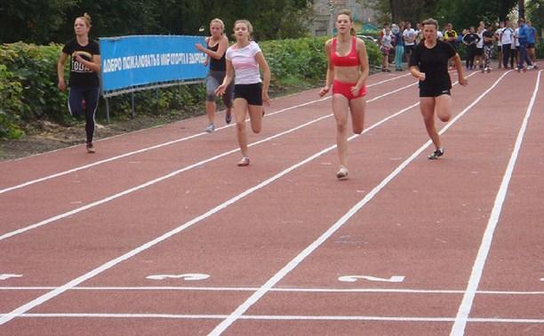 В Кимовске прошли легкоатлетические соревнования