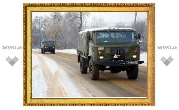 Въезд в Тулу для грузовиков сделают платным