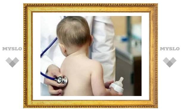 Здоровых детей в Туле стало меньше