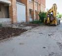 Туляки пожаловались на разрушенный двор после работы АО «Тулатеплосеть»