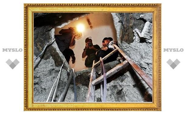 Алексинские грабители сделали подкоп под ювелирный магазин