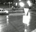 Ночная погоня в Узловой: Chevrolet Niva врезался в фонарный столб