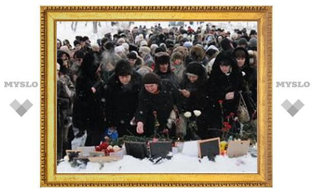 В Перми прошли службы в память о погибших в «Хромой лошади»