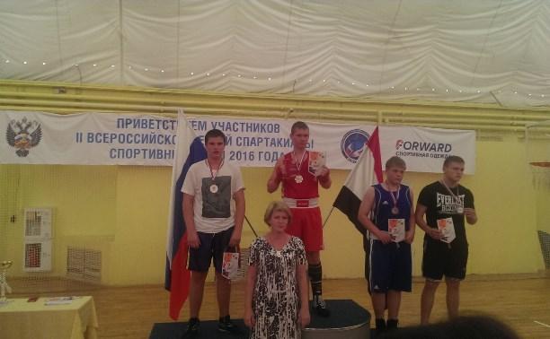 Боксеры Тульской области завоевали медали на Всероссийской Спартакиаде
