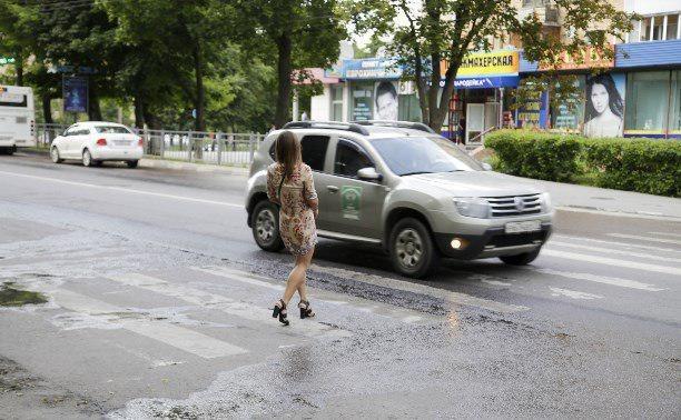 В России увеличили штраф для водителей, не пропустивших пешехода на «зебре»