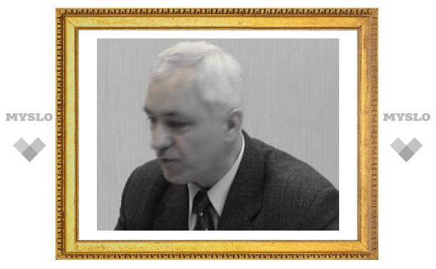 В Туле скончался бывший зам прокурора