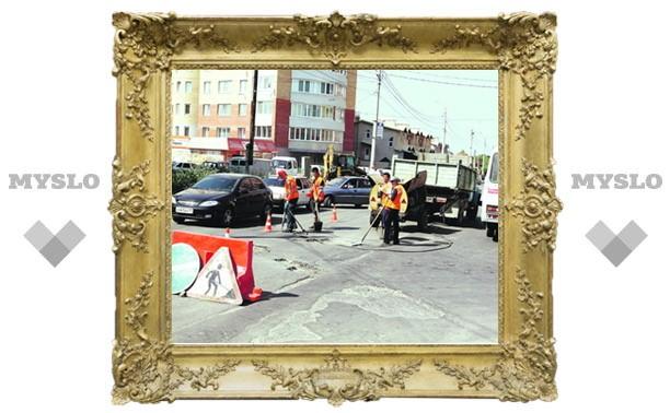 На Зеленстрое начали ремонтировать дороги