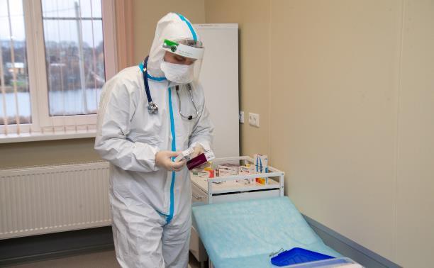 В Тульской области за сутки подтвердились 117 случаев коронавируса