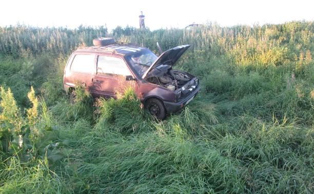 В аварии в Чернском районе пострадала 7-летняя девочка