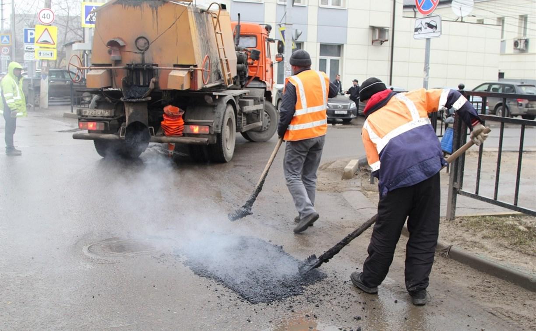 Евгений Авилов проконтролировал соблюдение технологии при выполнении ремонта дорог